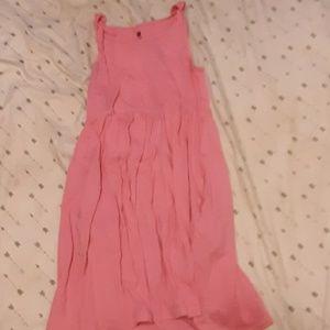 Pink Uniqlo dress.